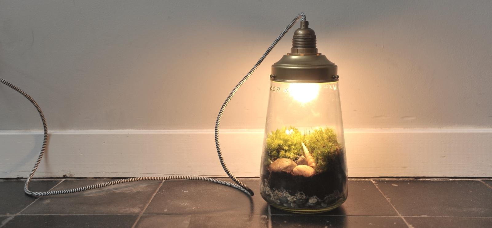 New EENHOORN ECOSYSTEEM LAMP KOPEN | een mini ecosysteem lamp #YA46